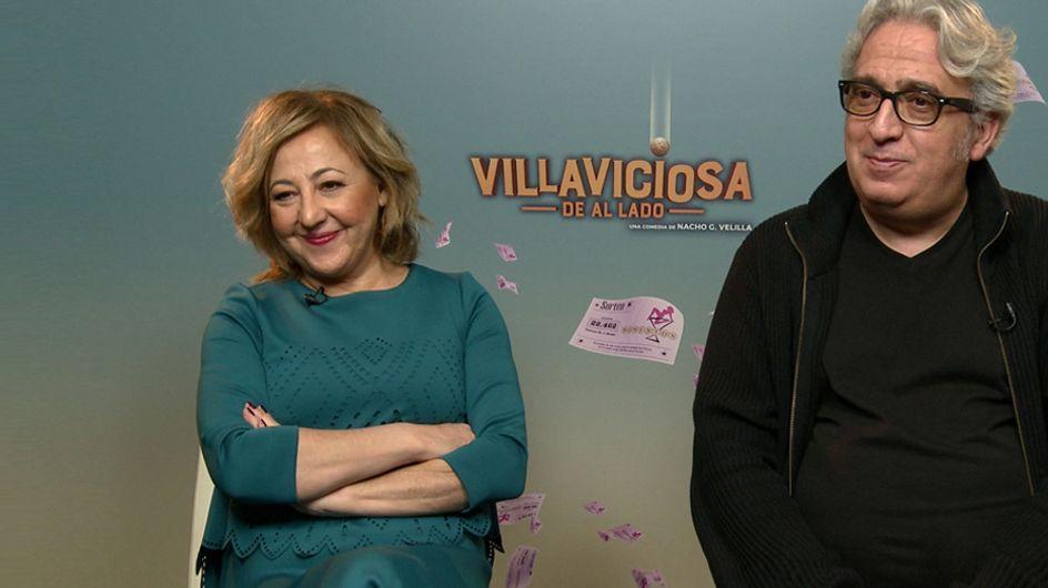 ¿Qué harías si te tocase la lotería? Entrevistamos a los protagonistas de 'Villaviciosa de al lado'