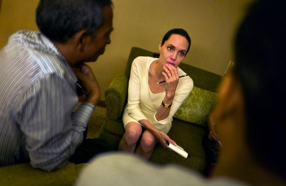 Magerschock bei Angelina Jolie: Wiegt sie wirklich nur noch 34 Kilo?