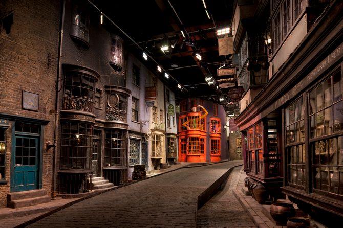 Les studios Warner Bros Harry Potter de Londres en images