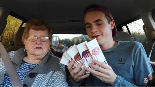 Mamie Lill et son petit fils Kevin Droniak : un duo très complice
