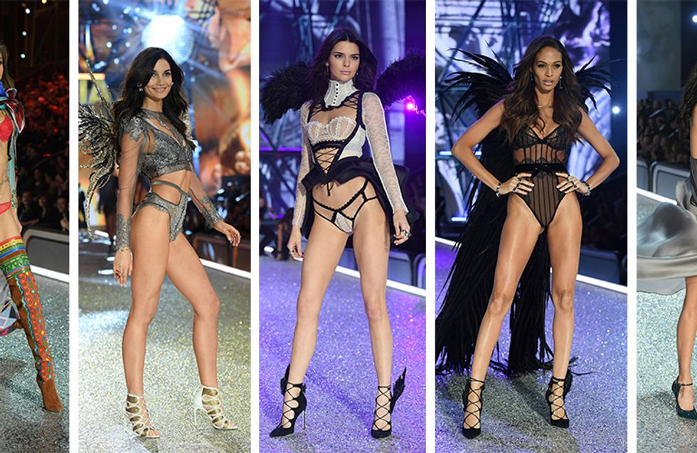 As modelos da Victoria's Secret de cara limpa