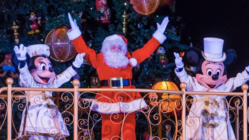 Ces photos vont vous convaincre de passer Noël à Disneyland Paris