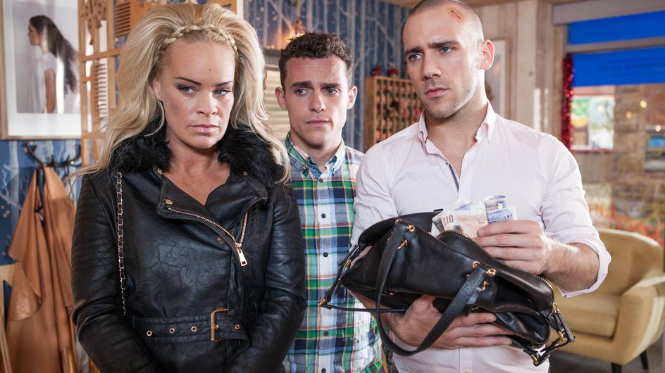 Hollyoaks 13/12 - Grace Is Worried About The Safety Of Her Secret