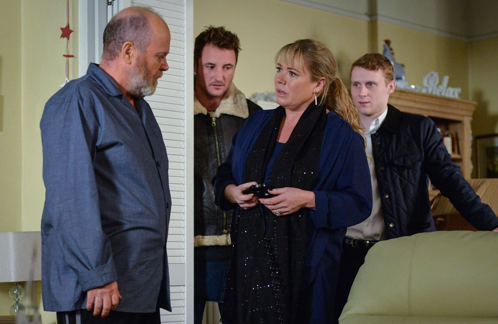 Eastenders 13/12 - Sharon Is Taken Aback When Phil Wants To Spend Christmas Alone