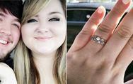 Eine Verkäuferin lästert über ihren billigen Verlobungsring - doch sie erteilt
