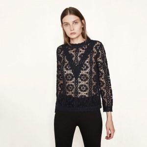 La blouse Lenita Maje, 175 euros