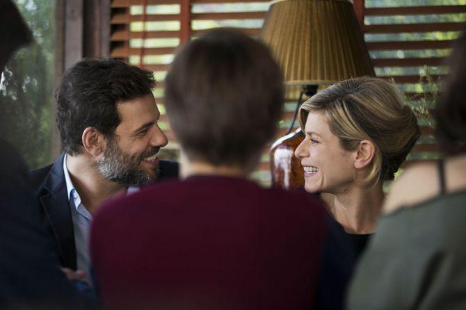 """Laurent Lafitte et Marina Foïs dans """"Papa ou maman 2"""""""