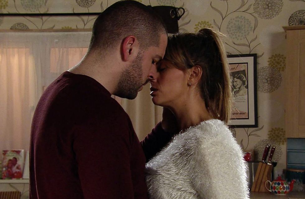 Coronation Street 21/12 - Aiden Gives In To His Feelings