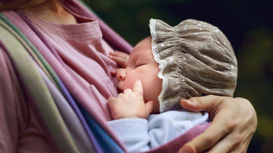 Eltern aufgepasst! Diesen gefährlichen Fehler habt ihr beim Tragen eures Babys BESTIMMT auch gemacht
