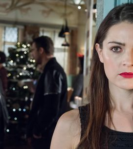Hollyoaks 23/12 - Sienna Hides From Joel And Warren