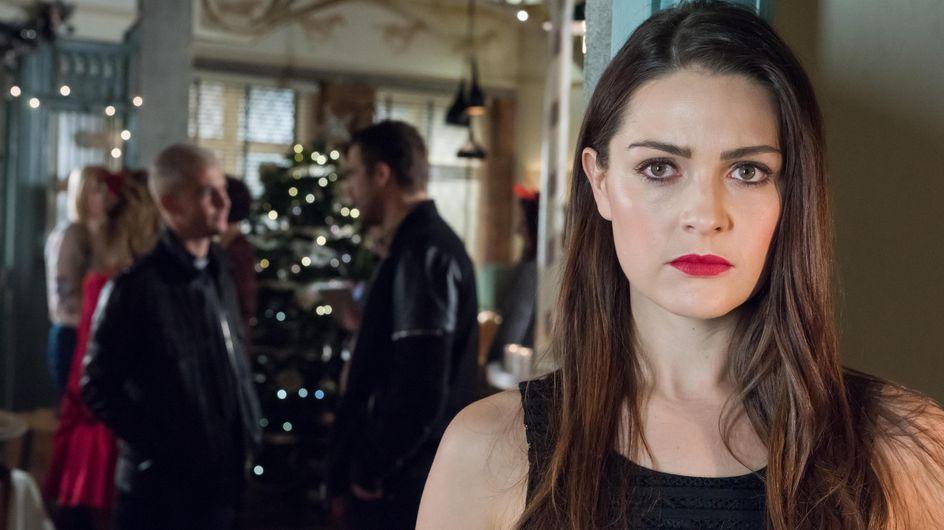Hollyoaks 23/12 - Sienna Hides From Joel And Warren