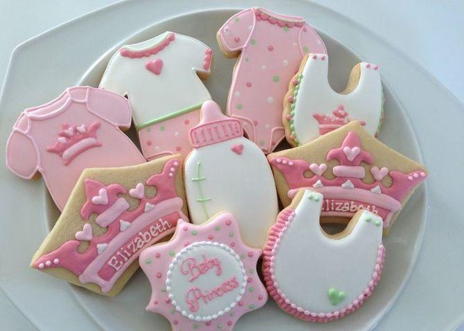 Biscoitos confeitados
