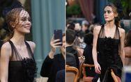 Ist Lily-Rose Depp ZU dünn? Der Anblick der 17-Jährigen bei einer Modenschau lös