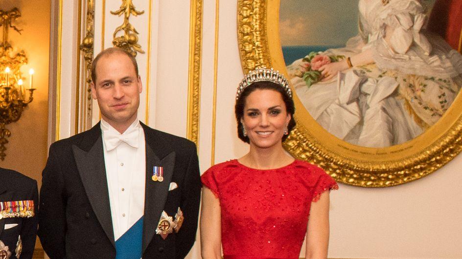 Kate Middleton, princesse modèle avec la tiare préférée de Lady Di (Photo)