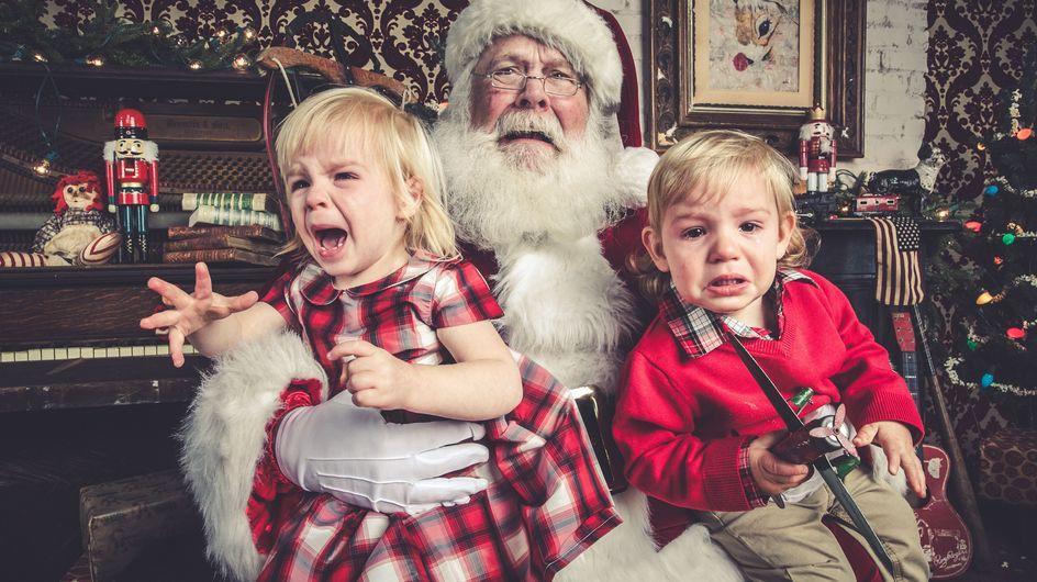Nostalgie : les (pires) photos avec le père Noël dont ils riront... dans 10 ans