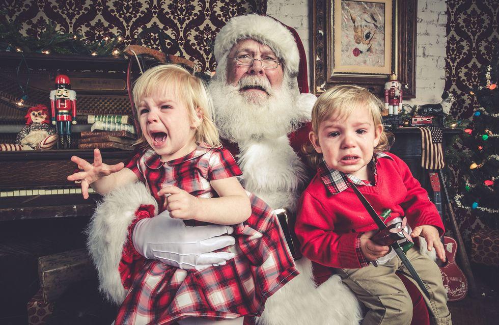 Les (pires) photos avec le père Noël dont ils riront... dans 10 ans