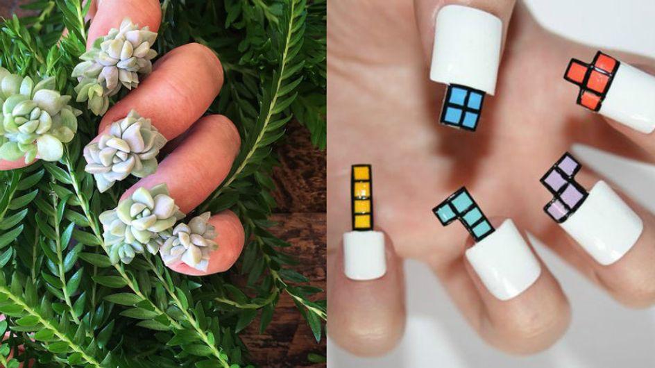 As nail arts mais esquisitas de todos os tempos