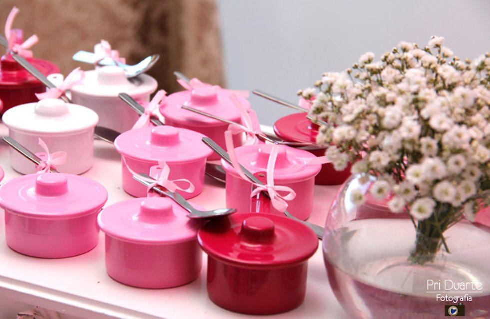 Chá de panela: decoração linda e fácil de fazer