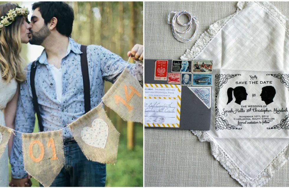 As mais lindas e criativas ideias de Save the Date para o seu casamento