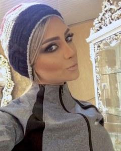 Elham Arab, l'une des mannequins les plus célèbres d'Iran