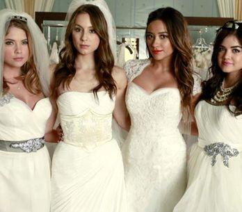 Une actrice de Pretty Little Liars s'est mariée et sa robe va vous rendre dingue