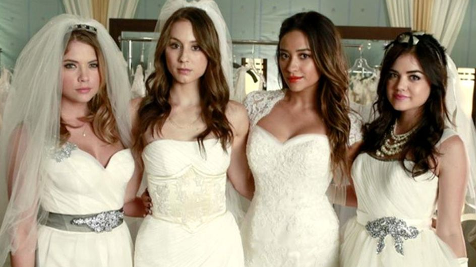 Une actrice de Pretty Little Liars s'est mariée et sa robe va vous rendre dingues (Photos)