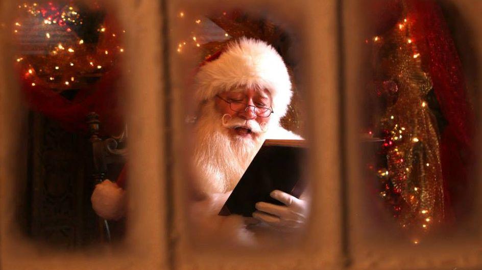 Noch einmal Santa Claus treffen - Fünfjähriger stirbt in den Armen des Weihnachtsmannes
