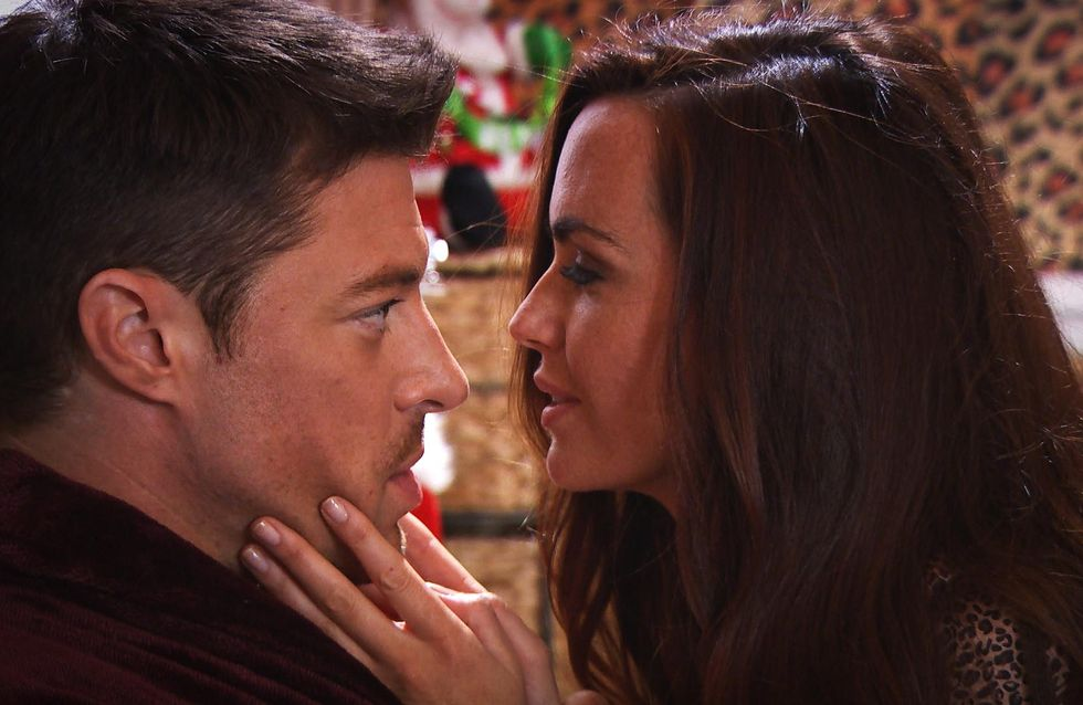Hollyoaks 30/12 - Mercedes And Ryan Sleep Together