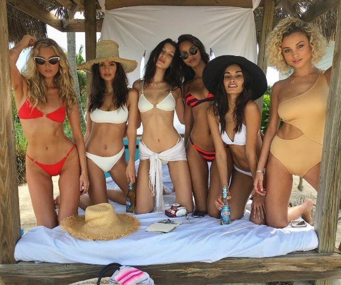 Les Anges Victoria's Secret aux Bahamas