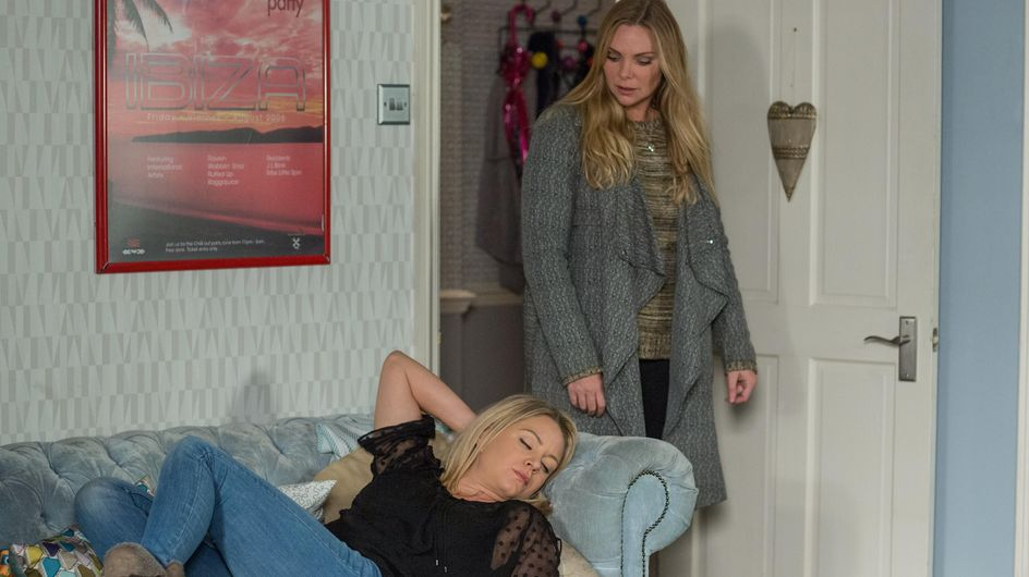 Eastenders 29/12 - Ronnie Is Frustrated With Roxy