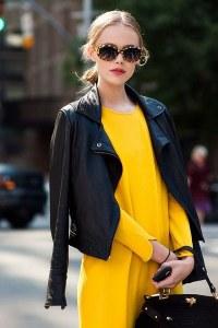 La veste en cuir est un essentiel mode