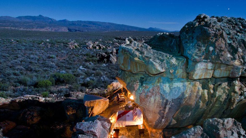 ¿Pasarías la noche en una suite al aire libre en la sabana africana?