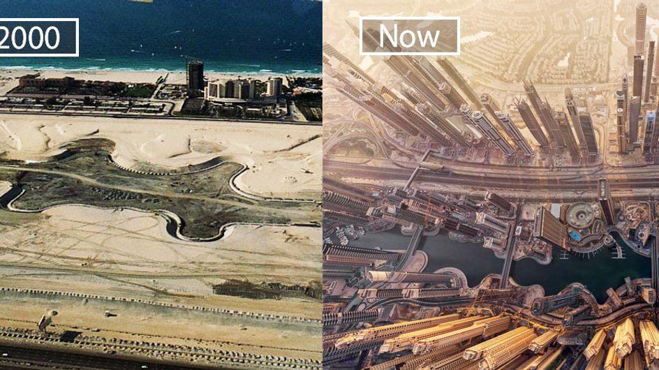 Antes y después: La increíble evolución de nuestras ciudades a lo largo de los años