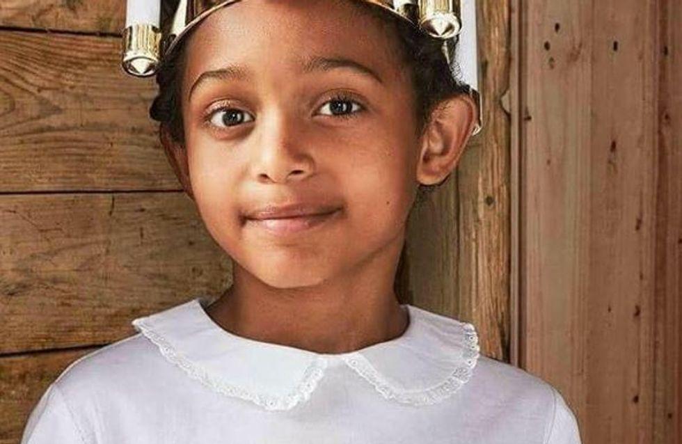 Un enfant noir en vêtements saints déclenche une déferlante de haine en Suède