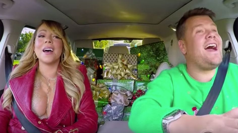 Christmas Has Come Early Thanks to James Corden's All-Star Carpool Karaoke And It's Fabulously Festive