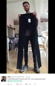 """Le jeans """"un peu trop long"""" de chez Asos"""