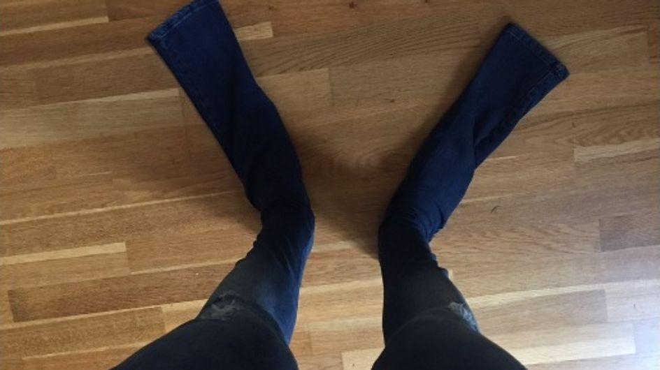 """En commandant un pantalon chez Asos, il ne s'attendait pas à recevoir """"ces palmes"""" en jean ! (Photos)"""