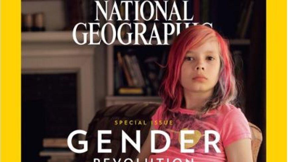 Cette petite fille transgenre marque l'Histoire en couverture d'un magazine légendaire (Photos)