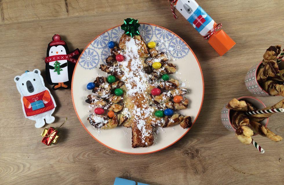 - Vidéo - La recette du sapin de Noël feuilleté au chocolat