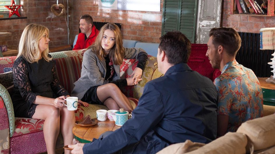 Hollyoaks 06/01 - Diane Brings Her Niece, Lily, To Stay But Tony Isn't Happy