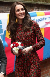 Kate Middleton, le 19 décembre 2016 à Londres