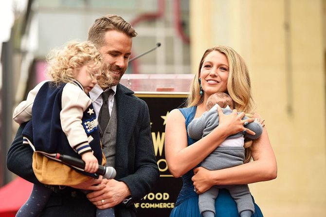 Blake Lively et sa famille