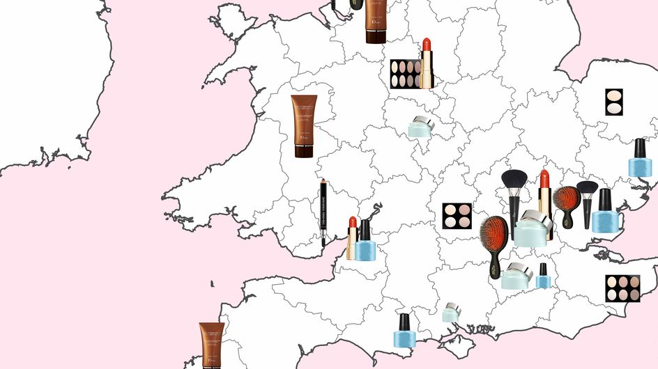 This UK Beauty Map Reveals The Most Popular Makeup Product In Every Region And The Results Are *Surprising*