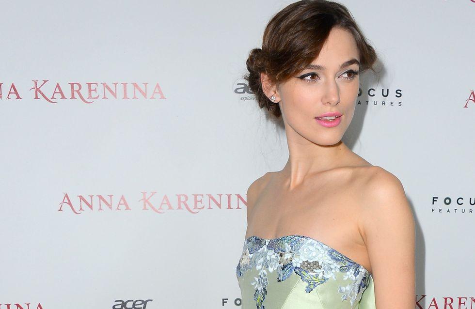 Sans ce petit détail, Keira Knightley refuserait de porter des robes ! (Photos)