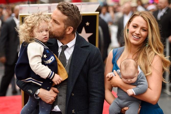 Blake Lively et Ryan Reynolds en famille, le 15 décembre 2016