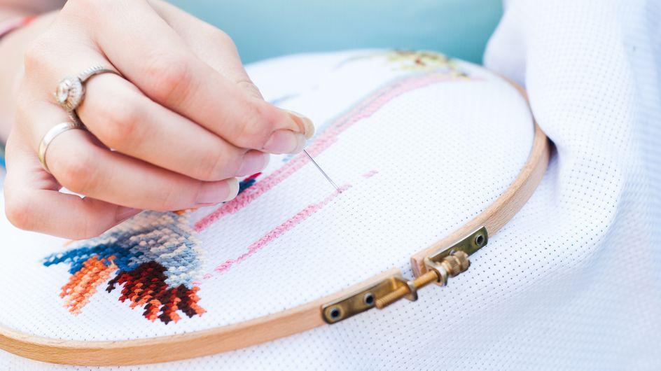Sticken lernen: So zauberst du echte Kunstwerke!