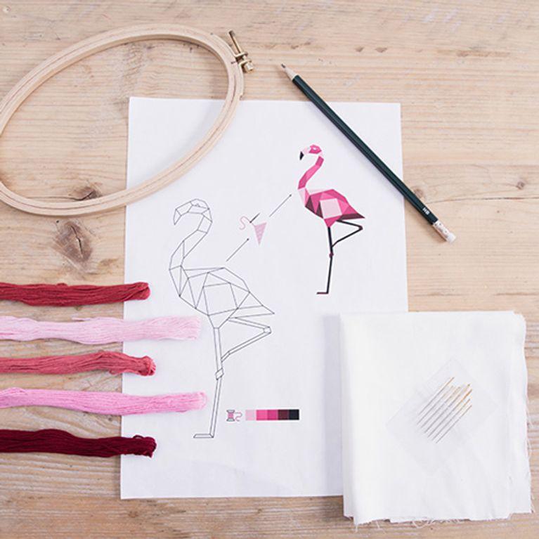 Bekannt Sticken lernen: So einfach zaubert ihr kleine Kunstwerke GW93