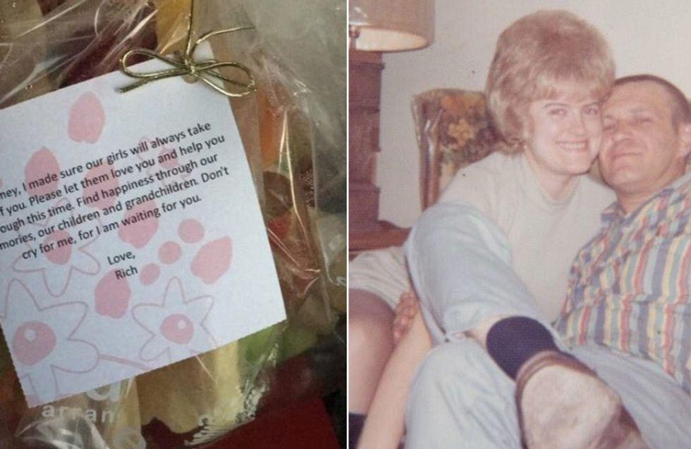 Ich warte auf dich - Nach dem Tod ihres Ehemannes erhält sie diesen rührenden Brief von ihm