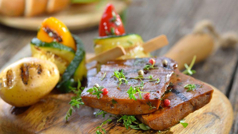Recetas con seitán, la carne vegetal de la que todos hablan
