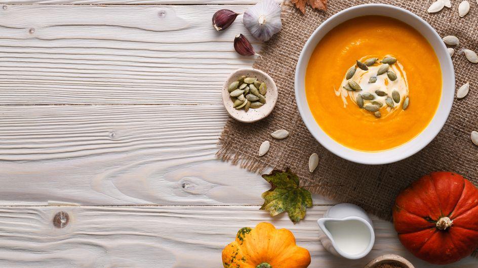 8 façons de préparer une soupe au potiron qui a tout bon !
